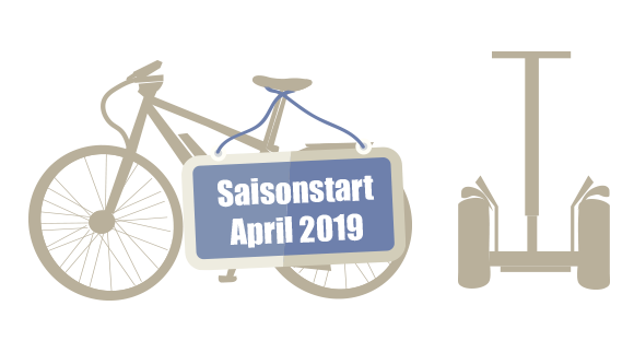 Saisonstart April 2019